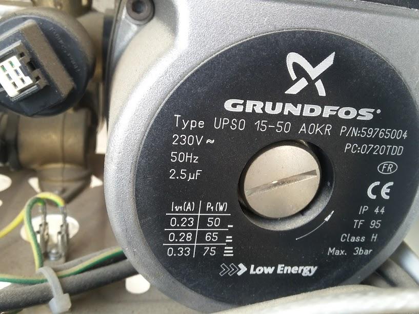 Grundfos motor su arıtma
